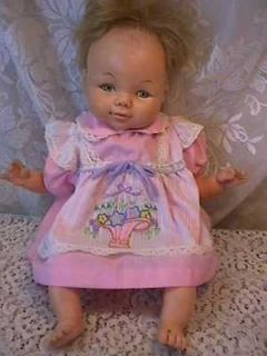 vintage HORSMAN DOLL BABY TWEAKS ? 1967 #07181 19 tall