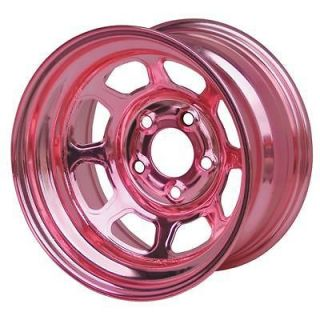 Wheels 30 Series AEROBrite Pink Chrome Roll Formed Wheel 13x7 4x4.5