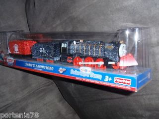 Thomas & Friends Trackmaster SNOW CLEARING HIRO new!