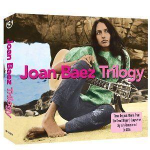 JOAN BAEZ TRILOGY 3 CD SET Jon Baez, Vol.1 / Joan Baez, Vol.2 / Folk