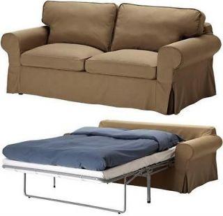 Ektorp Sofabed Cover 2 Seat Sofa Bed Slipcover Idemo Light Brown NIP