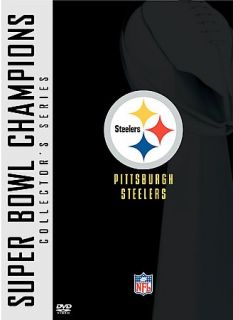 NFL Super Bowl Collection Pittsburgh Steelers DVD, 2005, 2 Disc Set