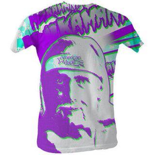 Hulk Hogan Hulkamania Sub Zero T shirt New