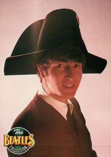 John Lennon Wearing a Terrific Hat, Paris Tour     Beatles Trading