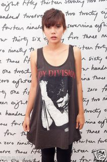 Joy Division Ian Curtis Indie Band o WOMEN T SHIRT DRESS Tank TOP