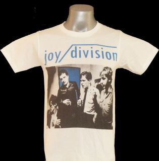 Joy Division Ian Curtis New Order JD1 White Tee T Shirts T Shirt Size