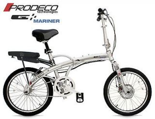 Prodeco 2012 Mariner 36V 6Ah 250W LiFEPO4 Electric Bicycle Bike eBike