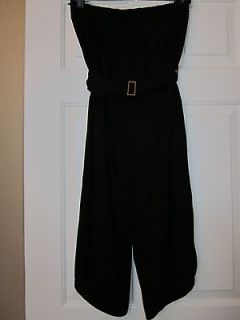 New BCBG Max Azria size XXS black one piece sleeveless romper/jumpsuit