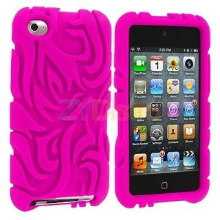 Totem Silicone Skin Case Cover Accessory for iPod Touch 4th Gen 4G 4