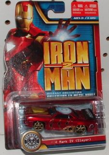 IRON MAN 2 DIE CAST COLLECTION   IRON MAN   MARK IV SLAYER