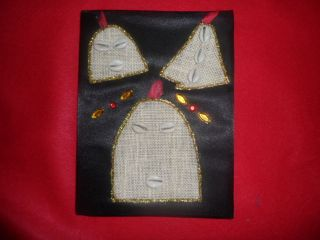 Libreta de ita de Elegua, eleggua. religion ifa yoruba orula santeria