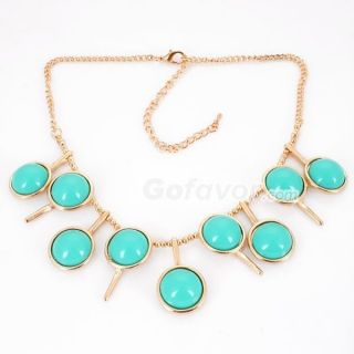 Fashion Candy Color Table tennis Bat Bib Necklace new arrival free