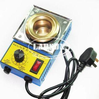 220V 100W Mini Stainless Steel Tin Furnace Lead Free Solder Pot Dia