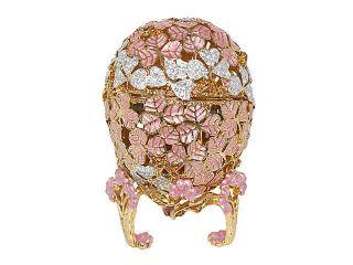 new swarovski crystal pink faberge egg w music box one day shipping