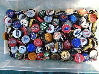 500 beer bottle caps no dents  left