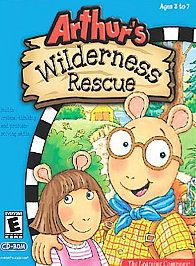Arthurs Wilderness Rescue Windows PC CD ROM Game PBS TV Children Kids