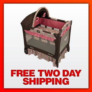 Travel Lite Ultra Comfy Crib with Removable Bassinet (Jacqueline