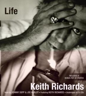 Life by Keith Richards and James Fox 2010, CD, Unabridged