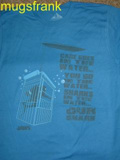 Jaws Shark Movie Cage in Water Shark in Water T Shirt