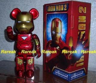 Medicom Be@rbrick Marvel Avengers Iron Man 400% Mark VI Ironman No.6