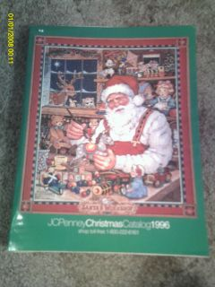 JCPenney Christmas Catalog, 1996, Vintage Christmas, Toys & Fashion