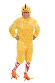 New Funny Adult Funky Chicken Bird Halloween Costume