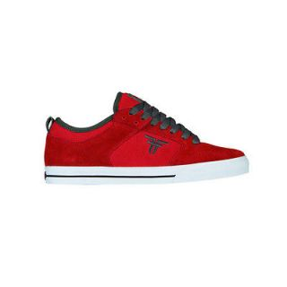 FALLEN CLIPPER RED/CHARCOAL MENS SKATE SHOES NEW SIZE 7.5