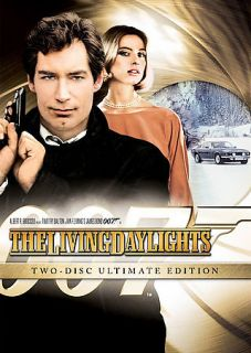 The Living Daylights DVD, 2008, 2 Disc Set, Movie Money Checkpoint