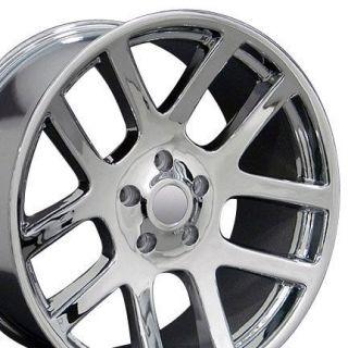 Set of (4) 20 Chrome Dodge Ram Dakota Durango SRT Replica Wheels Rims