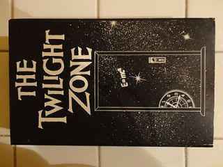 The Twilight Zone VHS The Dummy, nothing in the Dark, Shadow Play