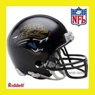 JACKSONVILLE JAGUARS MINI NFL FOOTBALL HELMET RIDDELL