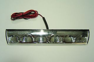 Truck cap, Topper, Leer Factory Recessed Third Brake Light LED