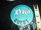 Vintage RONNIE JAMES DIO Concert T Shirt Tour Jersey 1984 DIO Heavy