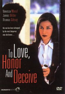 To Love, Honor And Deceive DVD, 2007