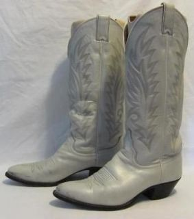 vintage justin tall western cowboy boot women size 7 expedited