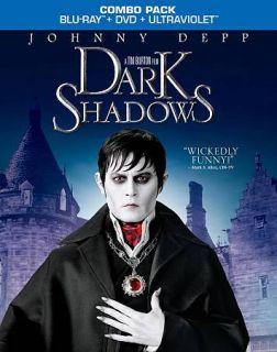 Dark Shadows (Blu ray/DVD, 2012, 2 Disc Set, Includes Digital Copy
