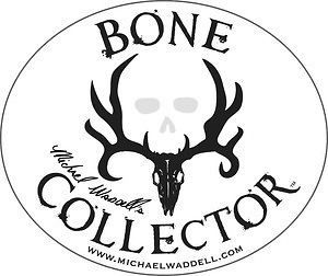 bone collector mike waddell window decal truck auto time left