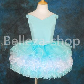 blue pageant dress in Kids Clothing, Shoes & Accs