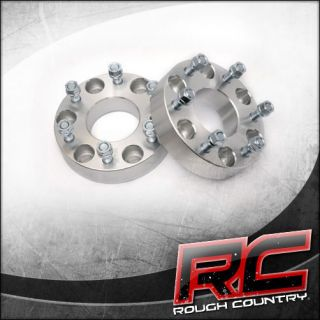 Newly listed 2 Rough Country Wheel Spacers  6 x 5.5 Bolt Pattern