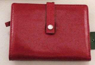 Kenneth Cole Reaction Genuine Leather French Purse w/Interior Zip $50