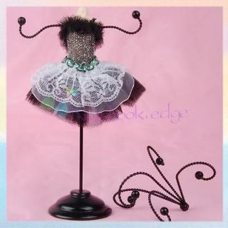 Mannequin Necklace Earring Jewelry Holder/Stand/Display Home Deco