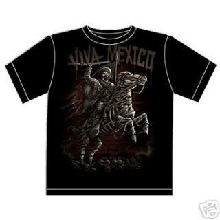 aztec dreams viva mexico zapata t shirt odm medium time
