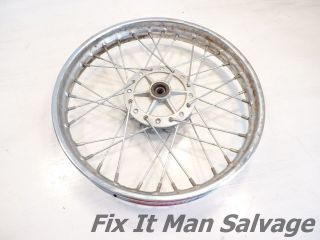 Honda 110 Clone Front Rim 1.4 x 14 (For Disc Brakes) Back Spoked