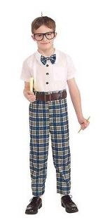 the class nerd child costume new halloween delivery express shipping