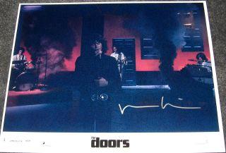 RARE SIGNED VAL KILMER THE DOORS 8 X 10   AUTOGRAPH   JIM MORRISON