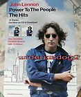JOHN LENNON Beatles promo poster Power People
