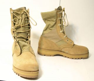 NEW McRAE ARMY DESERT ASSAULT/COMBAT BOOTS HOT WEATHER Vibram Sierra
