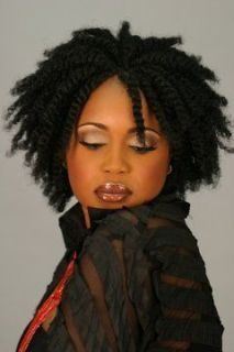 Kanekalon Afro Kinky Bulk Hair Extension   Twist/Braids Dreadlocks 12