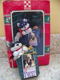 Dollhouse Miniature Dog Food Bowl and Purina Dog Food Bag