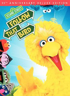 Sesame Street   Follow That Bird DVD, 2009, 25th Anniversary Deluxe